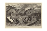 A Pawnee Camp in Midwinter Giclee Print by Arthur Boyd Houghton