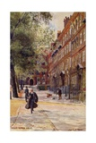 King's Bench Walk, London Giclee Print by Charles Edwin Flower