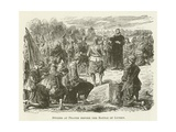 Swedes at Prayer before the Battle of Lutzen Giclee Print