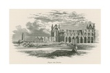 Whitby Abbey, from the South Giclee Print by Alexander Francis Lydon