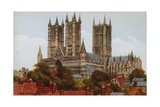 Lincoln Cathedral, Sw Giclee Print by Alfred Robert Quinton