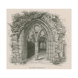 Tintern Abbey, Sacristy Doorway Giclee Print by Alexander Francis Lydon