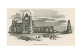 Whitby Abbey, from the North-West Giclee Print by Alexander Francis Lydon