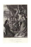 Volumnia and Coriolanus, Coriolanus, Act V, Scene III Giclee Print by Herbert Alfred Bone