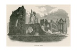 Whitby Abbey, from the West Giclee Print by Alexander Francis Lydon