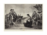 The Family Giclee Print by Georges Moreau De Tours