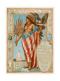 She Prefers Her Independence Giclee Print by Walter Crane