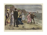 Croquet under Difficulties Giclee Print