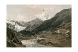 Zermatt and the Matterhorn Giclee Print