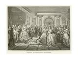 Martha Washington's Reception Giclee Print
