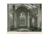 Melrose Abbey, Interior, Looking East Giclee Print by Alexander Francis Lydon