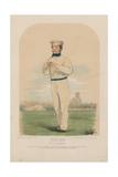 Portrait of John Wisden Giclee Print by John Corbet Anderson