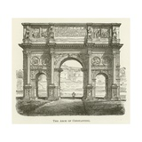 The Arch of Constantine Giclee Print