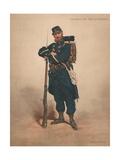 Chasseur a Pied, Tenue De Campagne Giclee Print