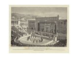 Greece and Rome - Greece: Theatre of Dionysus in Athens Giclee Print