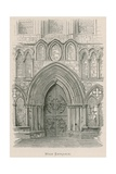 Bolton Priory, West Entrance Giclee Print by Alexander Francis Lydon