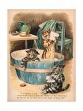 Louis Wain Cats Giclee Print by Louis Wain