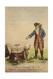 George Washington Confessing to His Father Giclee Print