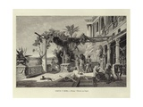 Greece and Rome - Rome: Tiberius in Capri Giclee Print by Ludwig Hans Fischer