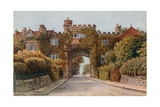 Archway Pay Gate, Maze Hill, St Leonards-On-Sea Giclee Print by Alfred Robert Quinton