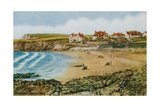 Crooklets Beach, Bude Giclee Print by Alfred Robert Quinton
