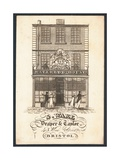 S Ware, Draper and Tailor, Trade Card Giclee Print