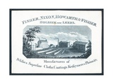 Fisher, Nixon, Howarth and Fisher, Trade Card Giclee Print