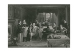Falstaff and His Friends, the Merry Wives of Windsor Giclee Print by Charles Robert Leslie
