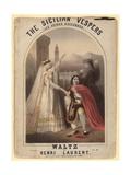 The Sicilian Vespers. Waltz by Henri Laurent Giclee Print by John Brandard