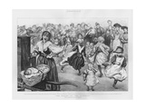 The Ballet of the Pavement Giclee Print by Charles Paul Renouard