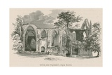 Bolton Priory, Choir and Transept, from South Giclee Print by Alexander Francis Lydon