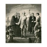Execution of Major Davel Giclee Print by Charles Gleyre