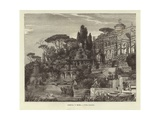 Greece and Rome - Roman Villa Giclee Print by Ferdinand Knab