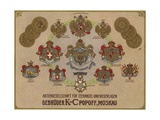 K and S Popov Brothers Publicity Giclee Print by German School