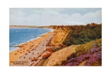 Durley Chine, Looking W, Bournemouth Giclee Print by Alfred Robert Quinton
