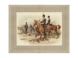 Royal Horse Artillery Giclee Print by Frank Dadd