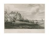 View of the Beach at Brighton Giclee Print by Henry Edridge