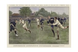 Lacrosse Giclee Print by Ernest Prater