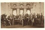 The Berlin Congress of 1878 Photographic Print by Anton Alexander von Werner