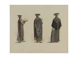 Servitor, Bachelor of Divinity, Collector, Engraved by J. Agar, Published in R. Ackermann's… Giclee Print by Thomas Uwins