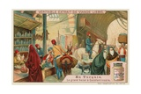 The Great Bazaar in Istanbul Giclee Print