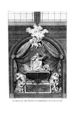 Tomb Effigy of Heart of King John II Casimir Vasa at Abbaye De Saint-Germain-Des-Prés in Paris) Giclee Print by Jean Chaufourier