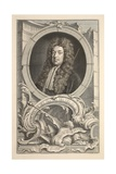 Portrait of Sidney, Earl of Godolphin, Illustration from 'Heads of Illustrious Persons of Great… Giclee Print by Jacobus Houbraken