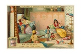 Inside the Harem of a Rich Turk Giclee Print