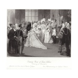 Drawing Room of Queen Victoria Giclee Print by Sir John Gilbert