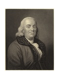 Benjamin Franklin Giclee Print by Joseph Siffred Duplessis