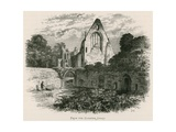 Dryburgh Abbey, from the Cloister Court Giclee Print by Alexander Francis Lydon