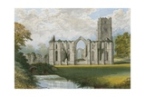Fountains Abbey Giclee Print by Alexander Francis Lydon
