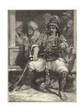 A Bashi-Bazouk Giclee Print by James Robertson