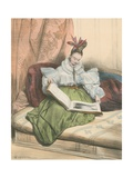 9 Heures Du Matin Giclee Print by Achille Deveria